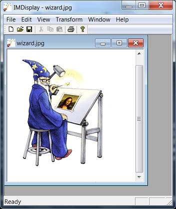 Tools - Running ImageMagick IMDisplay